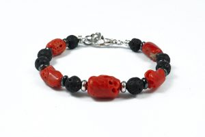 Bracciale-pietra-lavica-sassi-corallo-naturale-BR11218